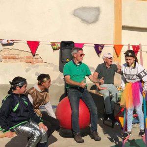 circus in Roemenië met circus Koekepan